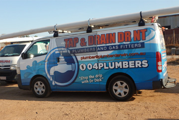 Tap and drain dr nt work van